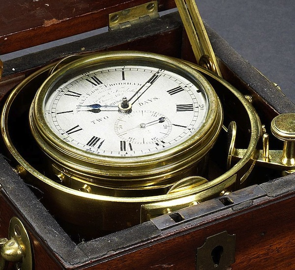 Image for article Darwin's chronometer up for auction