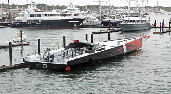 Image for article Comanche hits the water